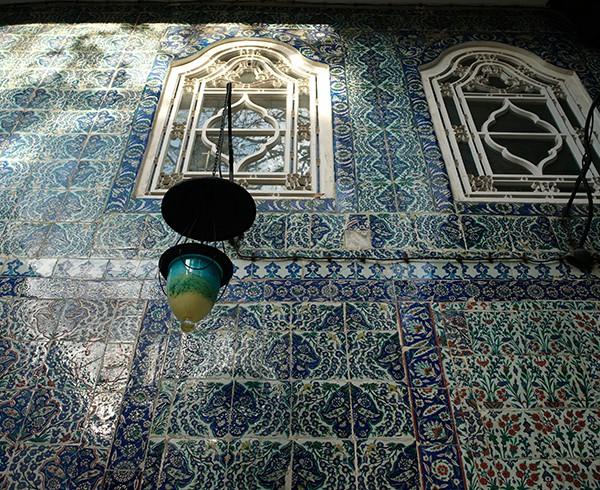 Bei der Sultan-Eyüp-Moschee am nördlichen Ende des Goldenen Horns.