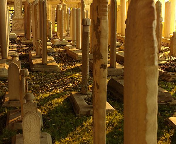 Friedhof an der Süleymaniye-Moschee.
