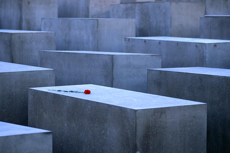 Das Holocaust-Mahnmal im Jahr seiner Eröffnung 2005.