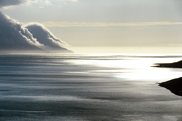 In den Westfjorden.
