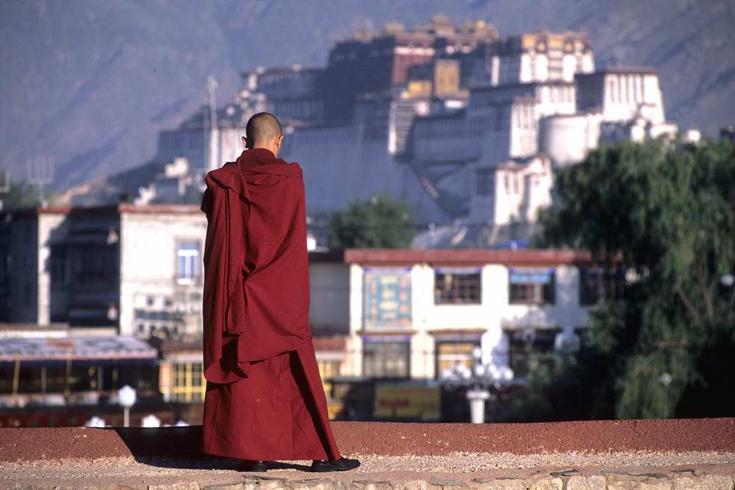 Lhasa Auf dem Jokhang